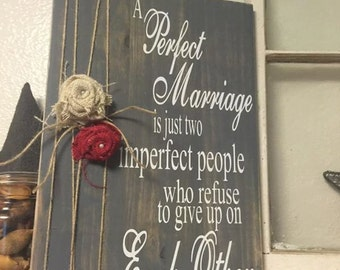 Perfect Marriage Burlap Flowers