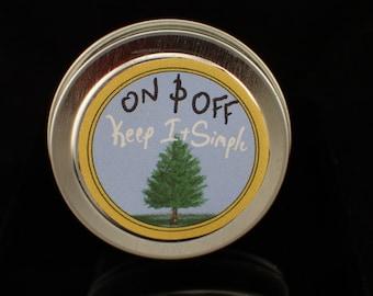 Vegan Pine Solid Perfume/Sample 0.5oz