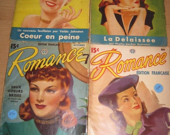 Vintage magazine Romance Collection / Vintage Go shopping Romance Collection