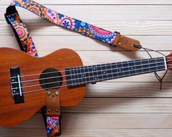 Gypsy Ukulele Strap 3 in 1