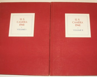 U.S. Camera, Annual Edition, 1941, Two Volumes, 1st Edition