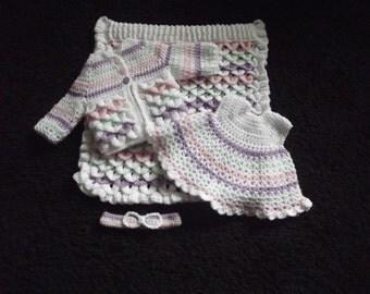 crochet crocodile stitch set