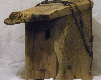 Barnwood Birdhouse #16