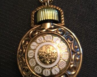 Vintage AVON perfume bottle necklace
