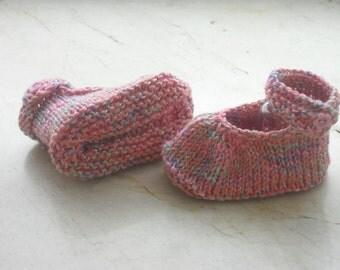 Baby shoes - baby shoes - first shoes - push - style of ballerinas - handmade - shoes - SL 7 cm - wool shoes
