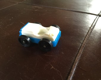Fisher price little people blue car