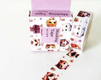 CCute cat sisters washi tape