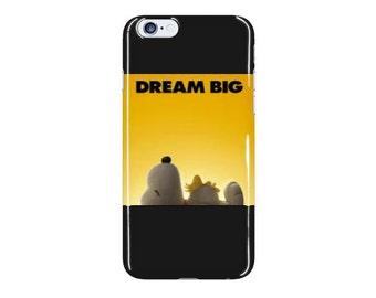 Dream Big Peanuts Phone Case