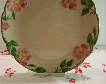 "Vintage Franciscan Desert Rose 12"" Round Chop Plate 1970's"