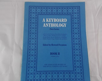 Music notes a keyboard anthology first series pieces by Peerson Frescobaldi Bach Handel Haydn Mozart Beethoven Schumann Heller Grieg Gliere