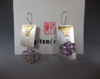 Dream series with 22k gold and ametrine