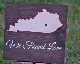 Kentucky Wood Sign - Kentucky Decor