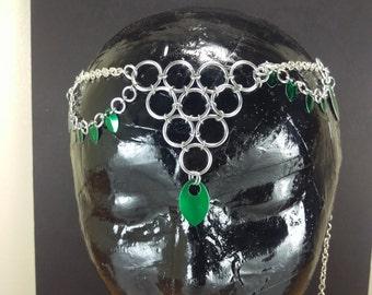 Chain Maille Headdress