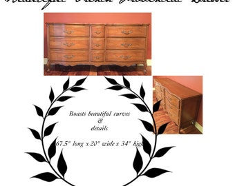 Double Vanity~French Provincial Dresser