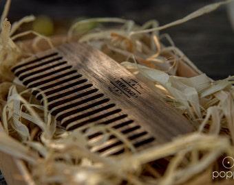 Handmade Beard Comb | Wooden Beard Comb | Personalized Beard Brush | Custom Beard Comb | Wood Comb | Custom Pocket Beard Comb | Beard Brush