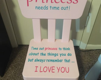 Princess Time Out Chair