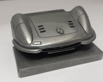Ferrari Dino Pewter Effect Car Pen Holder Business card holder for desk work etc