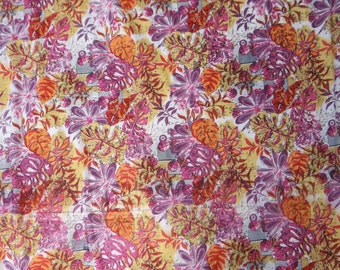 "Dress Making Pure Cotton Fabric With Floral Printed 42"" Fabric For Sewing Crafting Dress Making Material Decorative Fabric 1 Yard ZBC4965"