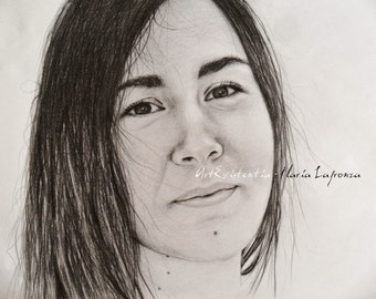Pencil portraits on Commission