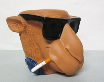 Vintage Camel Joe Smooth Character Camel Cigarettes Figural Can Holder Koozie Coozie 1991