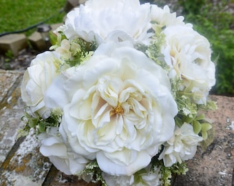 Cream Bridal Bouquet