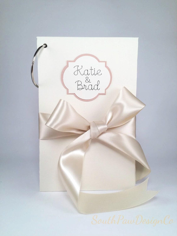 Custom Wedding Card Album Greeting Card Holder Bridal Shower