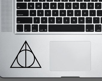 Harry Potter Deathly Hallows Decal *Choose size & color* Happy Potter Sticker - Inspired - The Deathly Hallows Sticker - Three Symbols