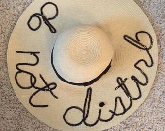 Sequin writing: Do Not Disturb