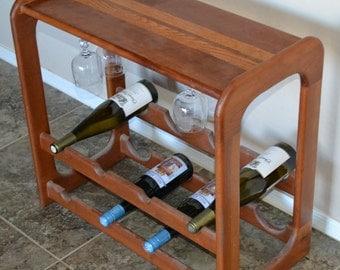 Cherry Wine Rack