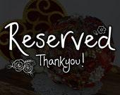 RESERVED - Wedding Brooch Bouquet, Broach Bouquet, Brooch Bouquet, Ivory Pearl Bouquet, Vintage Bouquet, Bridal Bouquet, Button Bouquet