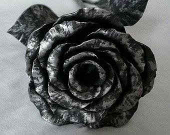 Hand made metal rose, Metal Sculpture