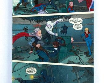 Spiderman, Spiderverse Journal / Sketchbook