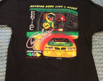 Vintage Pontiac racing tshirt