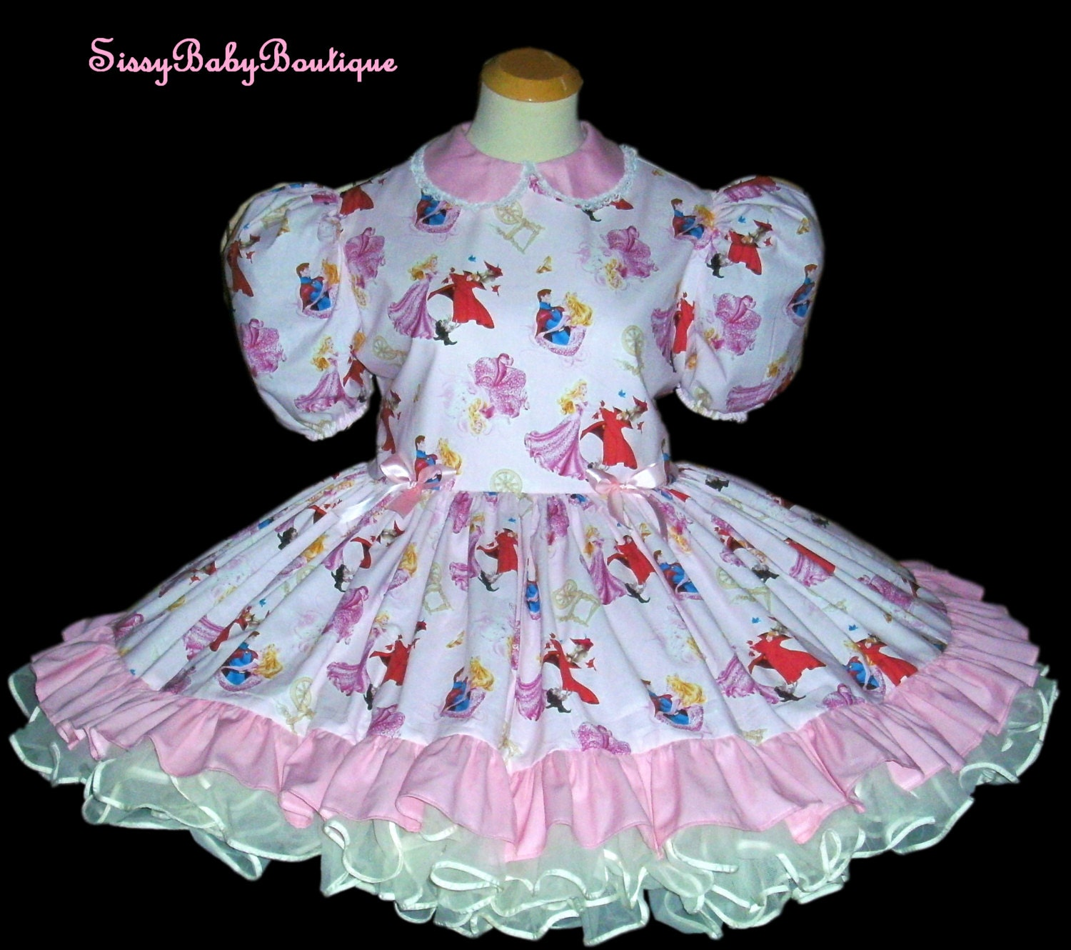Sleeping Beauty Adult Sissy Baby Dress Pink by ...