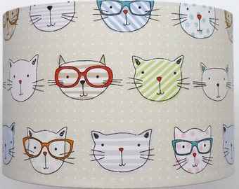 Cool Cats  . Table,  ceiling pendant Lampshade various sizes