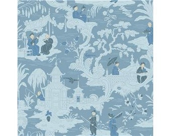 By the Roll-Cole & Son CHINESE TOILE Wallpaper