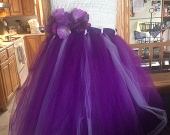 Handmade  tulle tutu dress