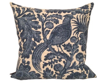 Delft Outdoor Cushion Cover in Chambray