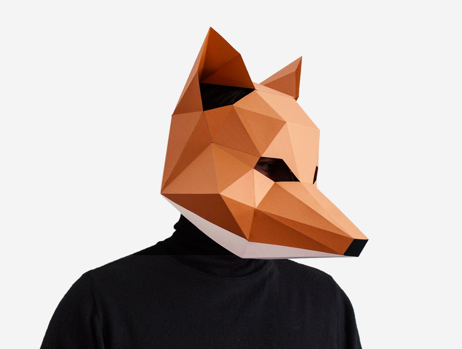 This is a graphic of Remarkable Printable Fox Mask