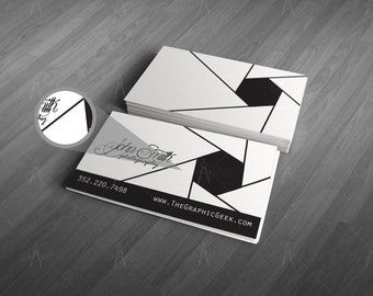 Aperature - Photography Business Cards
