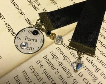 Hunger Games Satin Ribbon Bookmark - Peeta