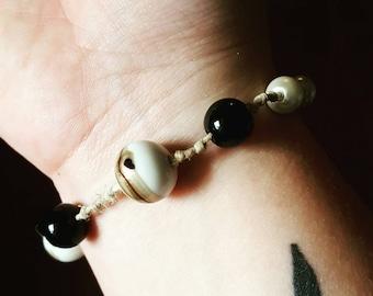 Beaded hemp bracelets