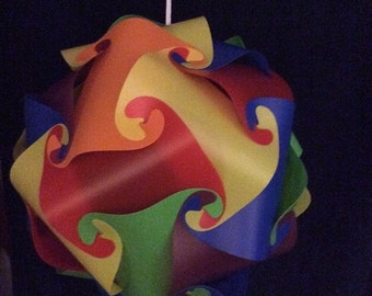 Rainbow IQ Puzzle Lamp