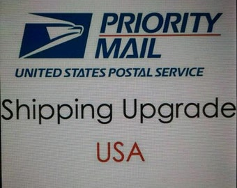 UPGRADE to PRIORITY Mail ONLY