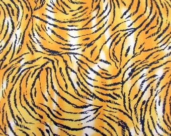 Per Yard, Tiger Skin Print Fabric