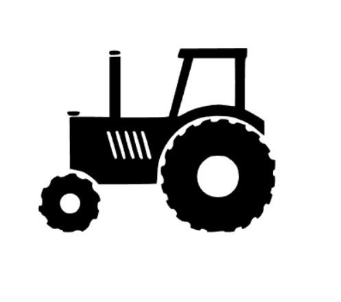 Tractor Decal Tractor Sticker Car Decal Truck Decal Phone
