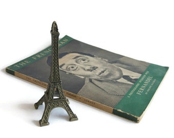 Vintage Souvenir Metal Eiffel Tower Paris