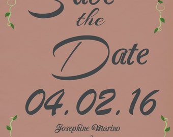 Save the Date - 25 ct. Matte