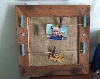 Hand made picture display