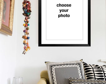 Custom Framed Fine Art Print of Your Choice